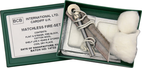 Bushcraft Matchless Fire Set