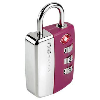 Go Travel Sentry Combination Lock - Nalno.com Outdoor Equipment