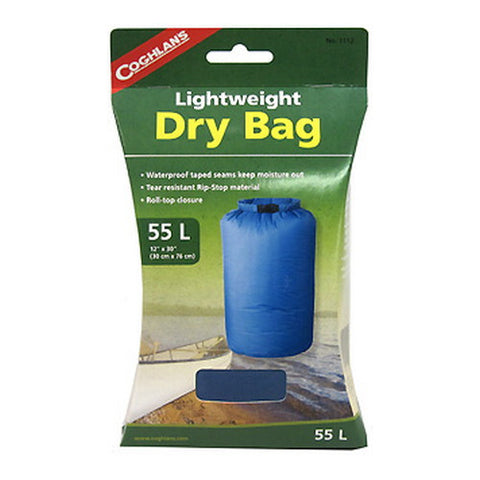 Coghlans Lightweight Dry Bag 55L - Nalno.com Outdoor Equipment