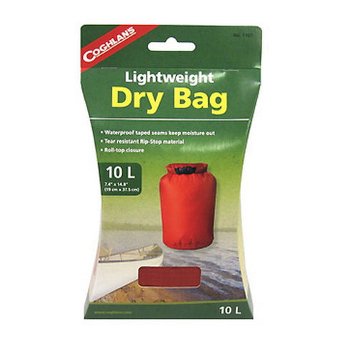 Coghlans Lightweight Dry Bag 10L - Nalno.com Outdoor Equipment