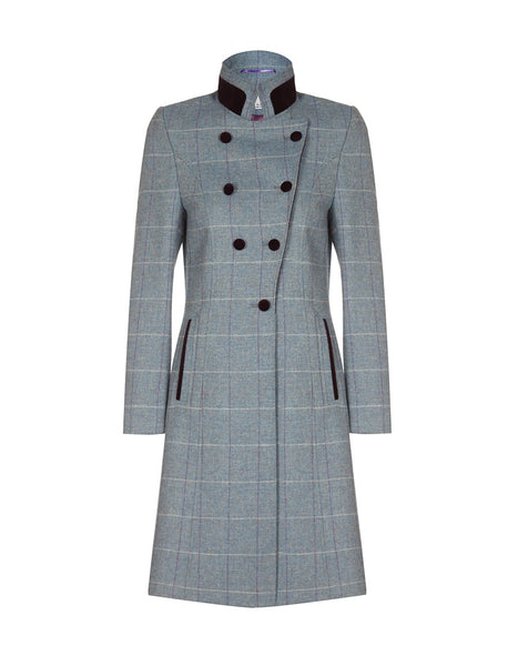 Knightsbridge Coat - Country Blue