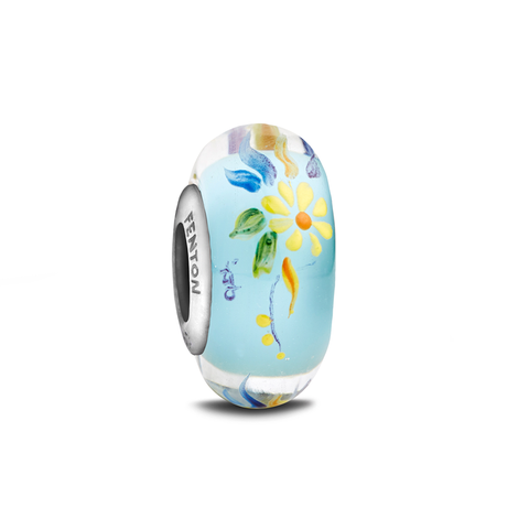 """Summer Dreams"" Hand Decorated Bead"