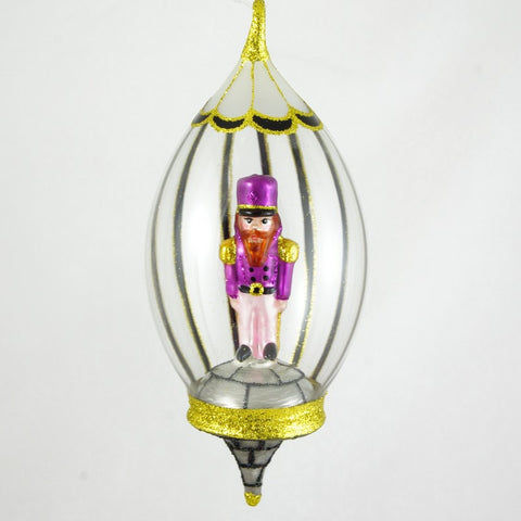 Dome with Purple Soldier Christmas Ornament - www.giftsbykasia.com - 1