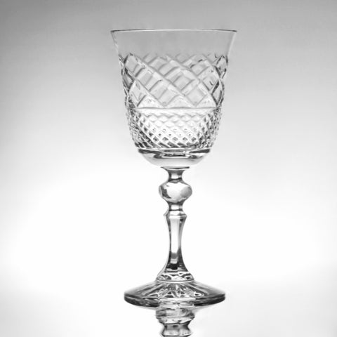 Crystal Goblet Florentine Cut - Gifts by Kasia - 1
