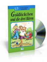 German Children's Book & CD: Goldilockchen die drei baren - Goldilocks and the three bears (German)