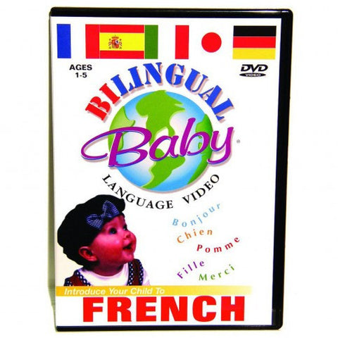 Bilingual Baby - Teach baby French, DVD (French-English)