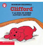 Clifford y la hora de dormir  - Cliford Bedtime (Spanish-English)