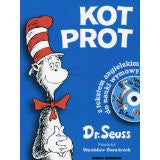Bilingual Dr Seuss in Polish: Kot Prot - Cat in the Hat, Book + CD (Polish - English)
