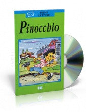 Pinochio, book + CD (Spanish)