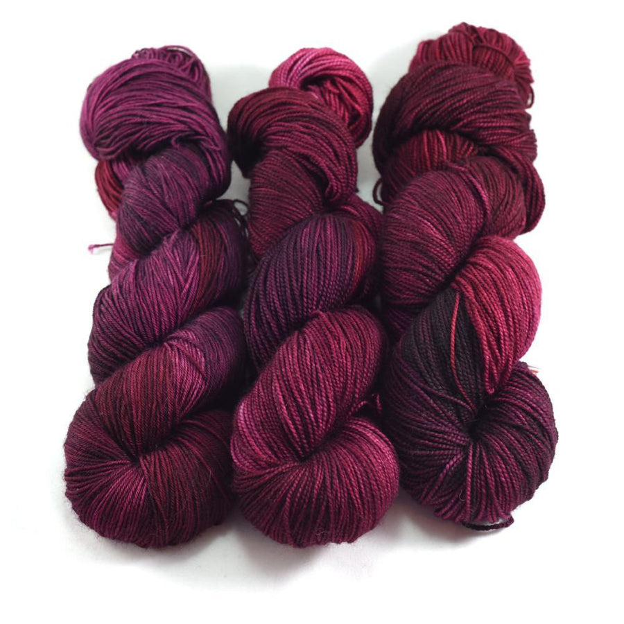 Destination Yarn fingering weight yarn NAPA RED