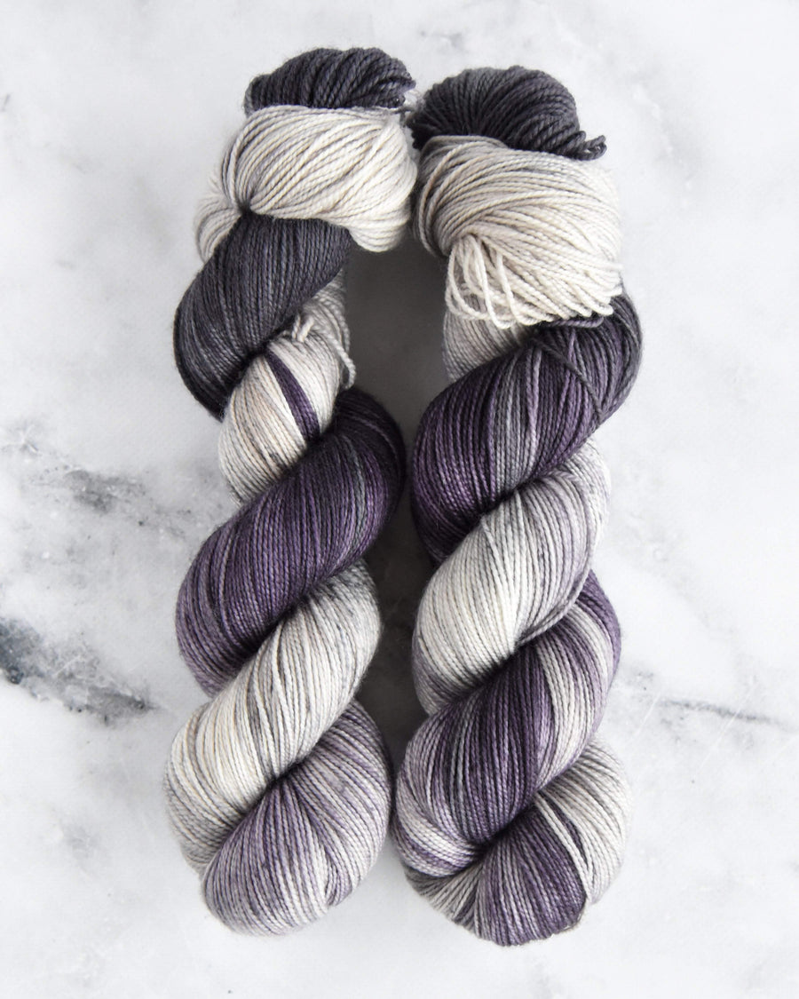 Destination Yarn fingering weight yarn Parisian Fog