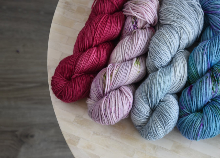 Destination Yarn Knitting Kit Sweater Quantity Preorder - DK Weight