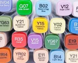 COPIC MARKERS - G00-RV34