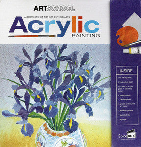 ART SCHOOL KIT - ACRYLICS