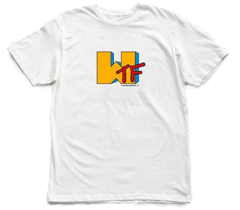 Memo Apparel : Wtf Music [tee] in WHITE