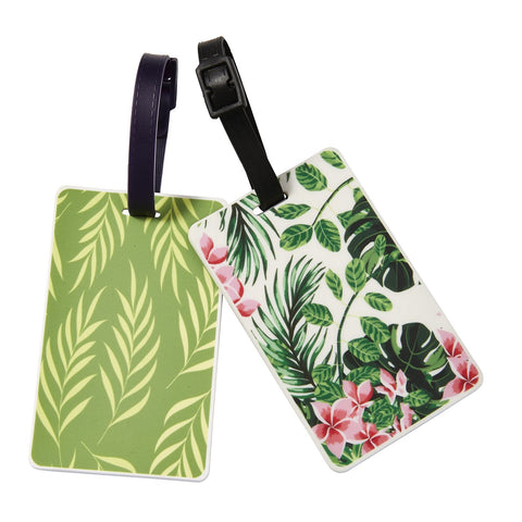 Tropical Glam Luggage Tag