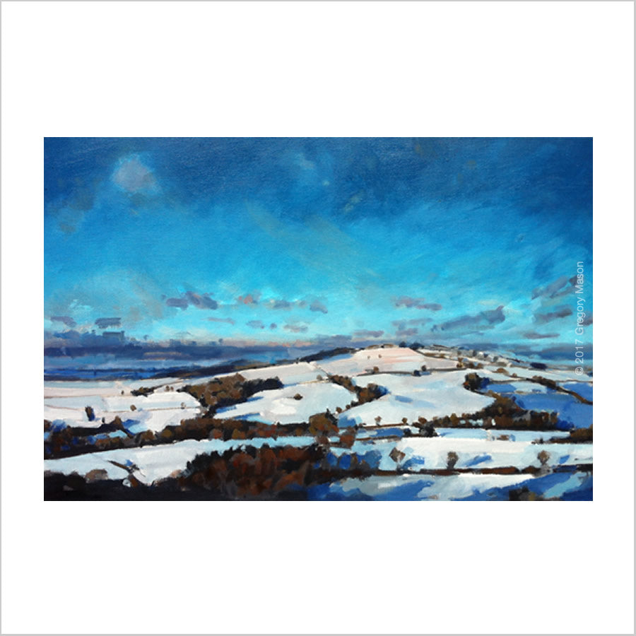 Raddon in Snow: Print