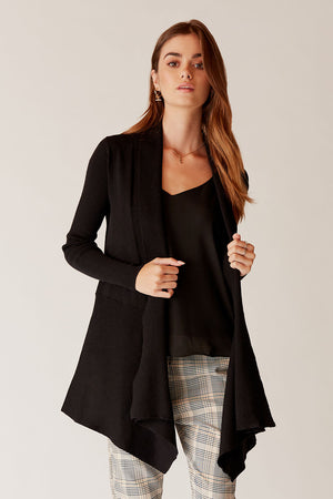 Phoebe Draped Cardigan
