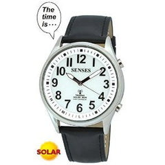 ATOMIC SOLAR TALKING! SENSES Sets Itself Solar Power Stylist Talking Watch (TC-1395)