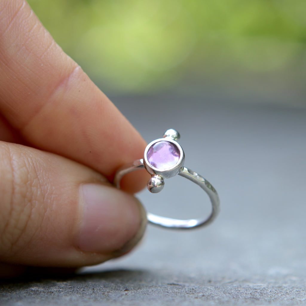 Amethyst Polar Ring