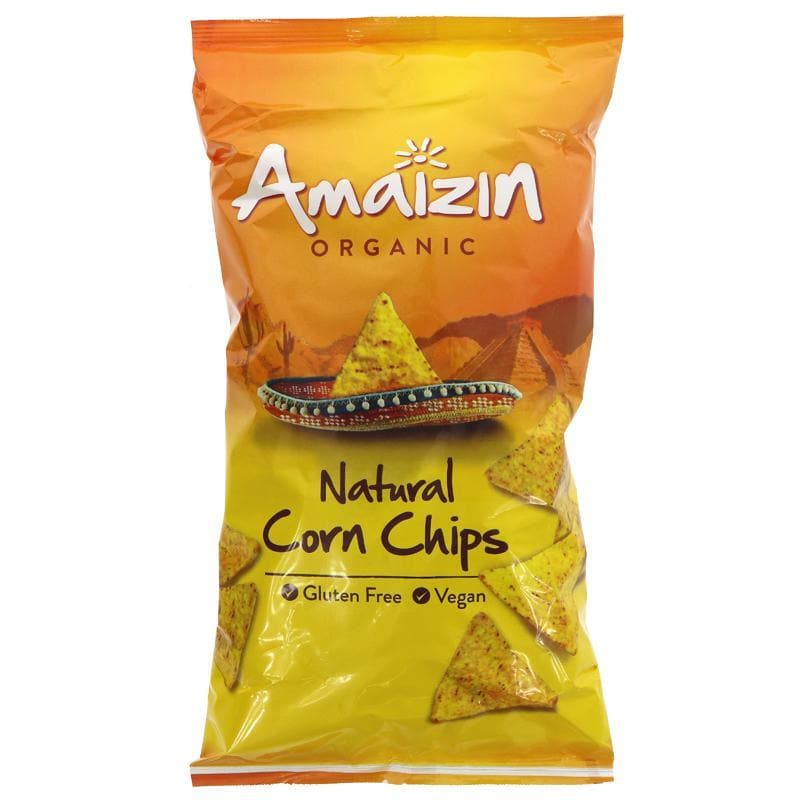 Amaizin Natural Corn Chips Value Bag -250g - SoulBia