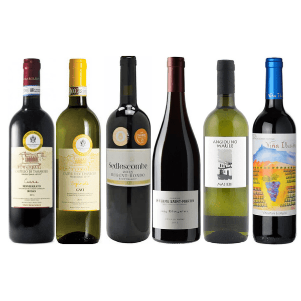 Case of Biodynamic Wines | 6 Organic Wines