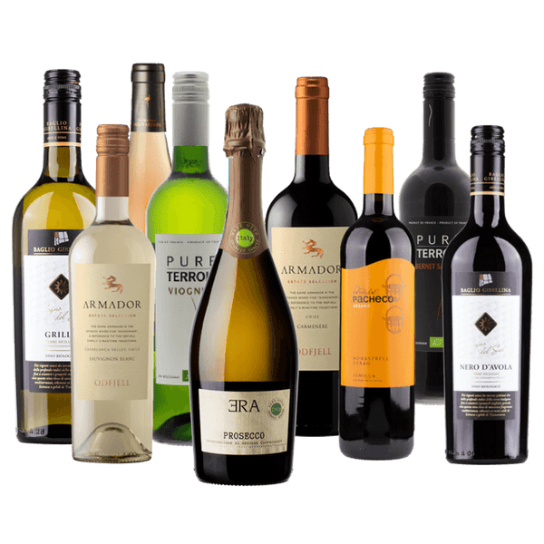 The Personally Selected Wine Plan | Tailored for You | 10 Bottles | Every 30, 60, 90 Days