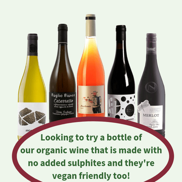 Try a Bottle of Organic Wine