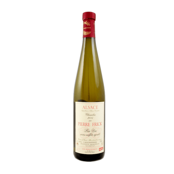 Pierre Frick Chasselas, Alsace, France (no added sulphites)
