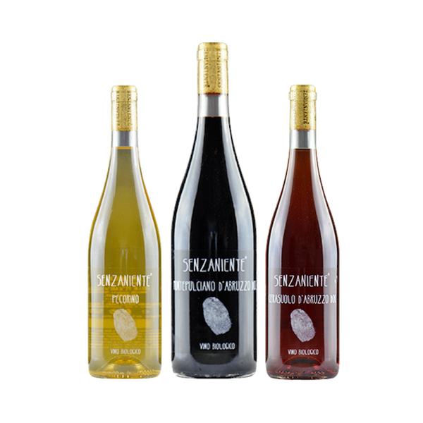 Trio of Senzaniente Wines from Italy | No Added Sulphites | Real Wines | No Additives