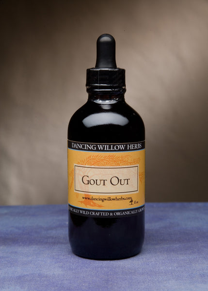 Gout Out - Dancing Willow Herbs Herbal Formulas - herbal formulas