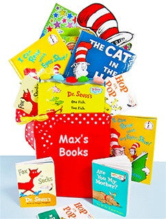 Dr. Seuss Favorite Books Youth Child Gift Basket Tote