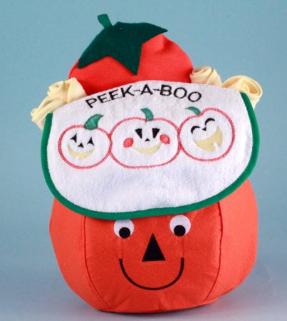 Baby First Halloween Peek-A-Boo Pumpkin Gift Basket