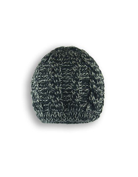 BOYS 4-16 MARLED CABLE KNIT TOQUE