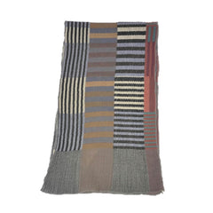 "NUNO Narrow Shawl: ""Color Plates"" (Multicolored)"