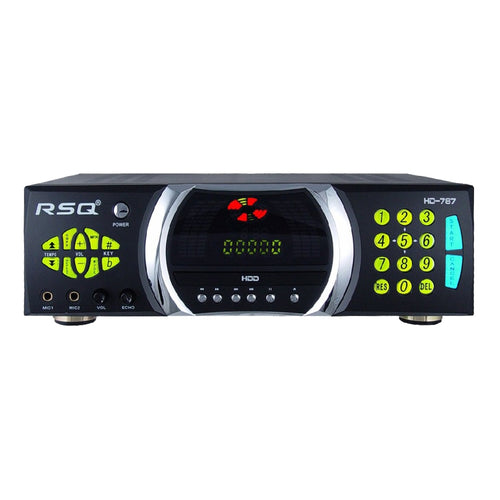 RSQ HD-787 CD+G, DVD, VCD, NEO+G Karaoke  Player