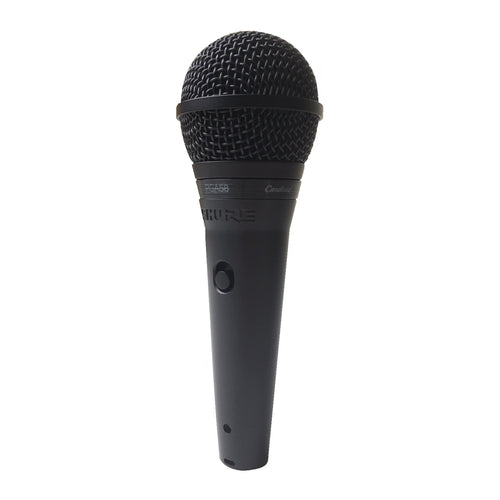 Shure PGA58-QTR Cardioid Dynamic Vocal Microphone with 15' XLR-QTR Cable