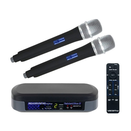 VocoPro TabletOke-II Wireless Microphone and Bluetooth Receiver