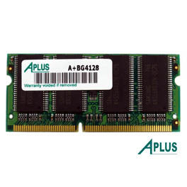 128MB SDRAM PC100 SODIMM for Apple Power Book G4 (Titanium 400, 500, 550)