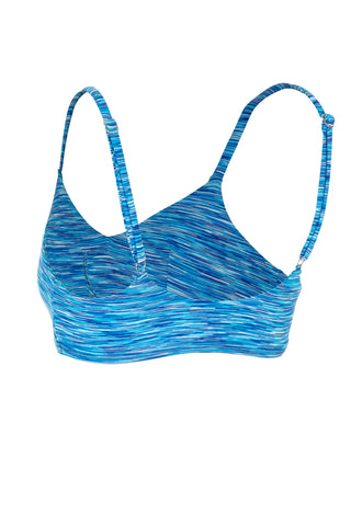 Ultimate Bralette - CASCADE BLUE