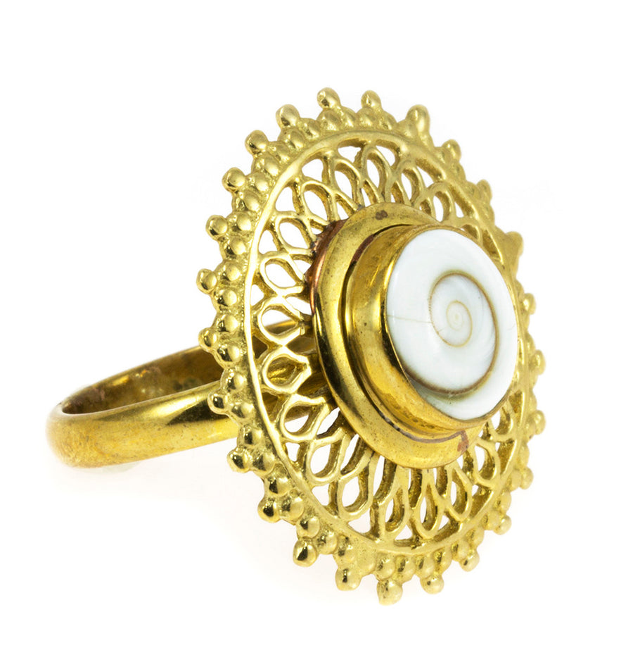 Brass Boho Indian Style Ring