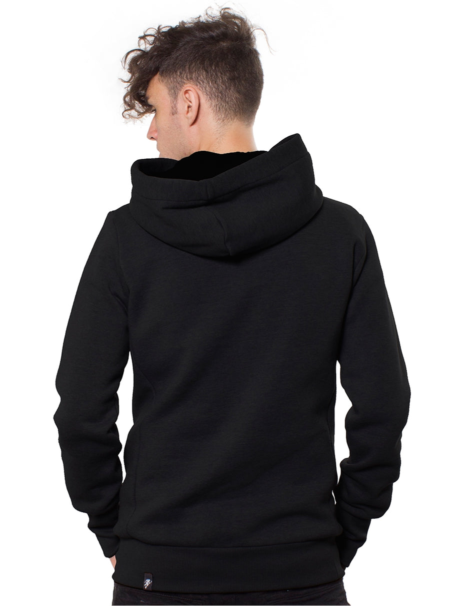 black hoodie men festival clothing