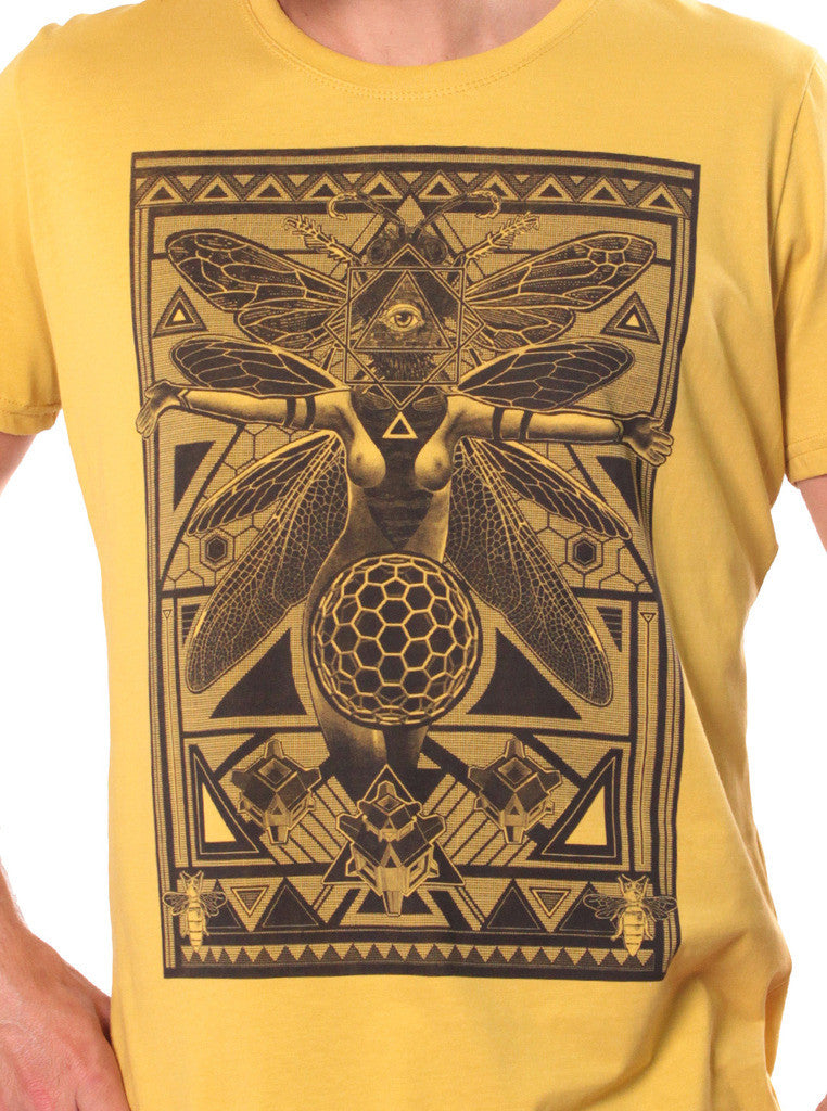 Queen B Fly Illuminati T-Shirt