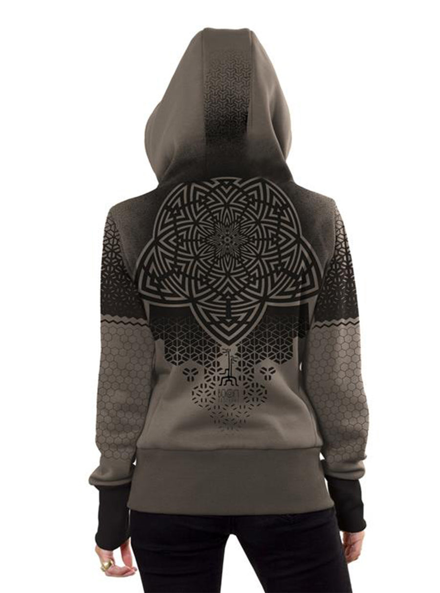 Abstract Sacred Geometry Hoodie