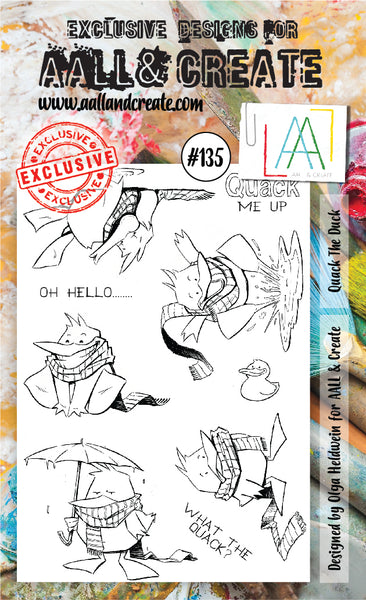 AALL & Create Stamp Set A6 #135 by Olga Heldwein - Artified Shop  [product_venor]
