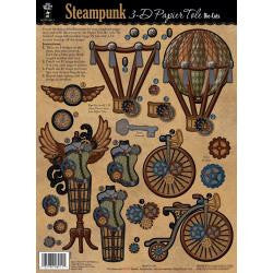 3D Papier Tole Die-Cuts Steampunk - Artified Shop  [product_venor]