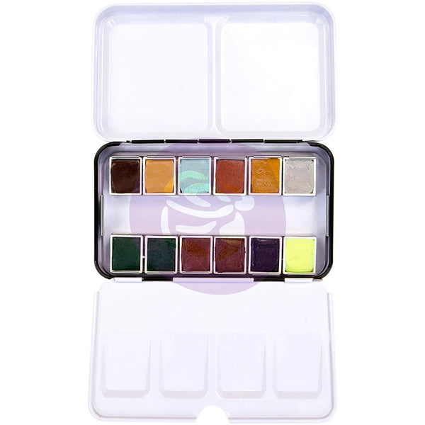 Essence Prima Watercolor Confections Watercolor Pans 12/Pkg - Artified Shop