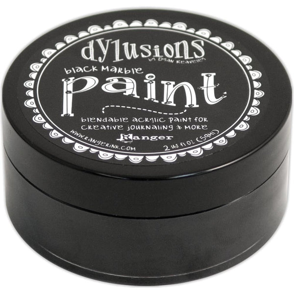 Black Marble Dyan Reaveley's Dylusions Paint 2oz - Artified Shop  [product_venor]