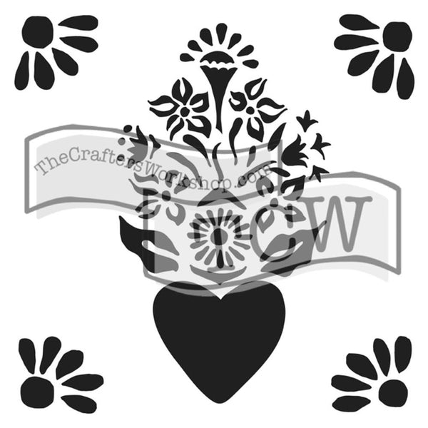 "Corazon Crafter's Workshop Template 12""X12"" - Artified Shop  [product_venor]"