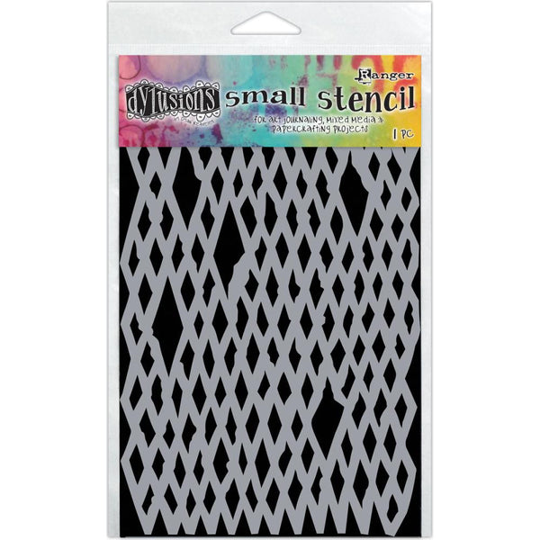 "Dyan Reaveley's Dylusions Stencils 5""X8"" - Diamond in the Rough - Artified Shop"